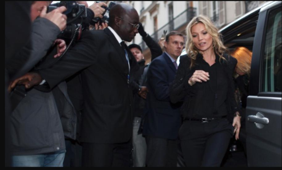 Kate moss in paris