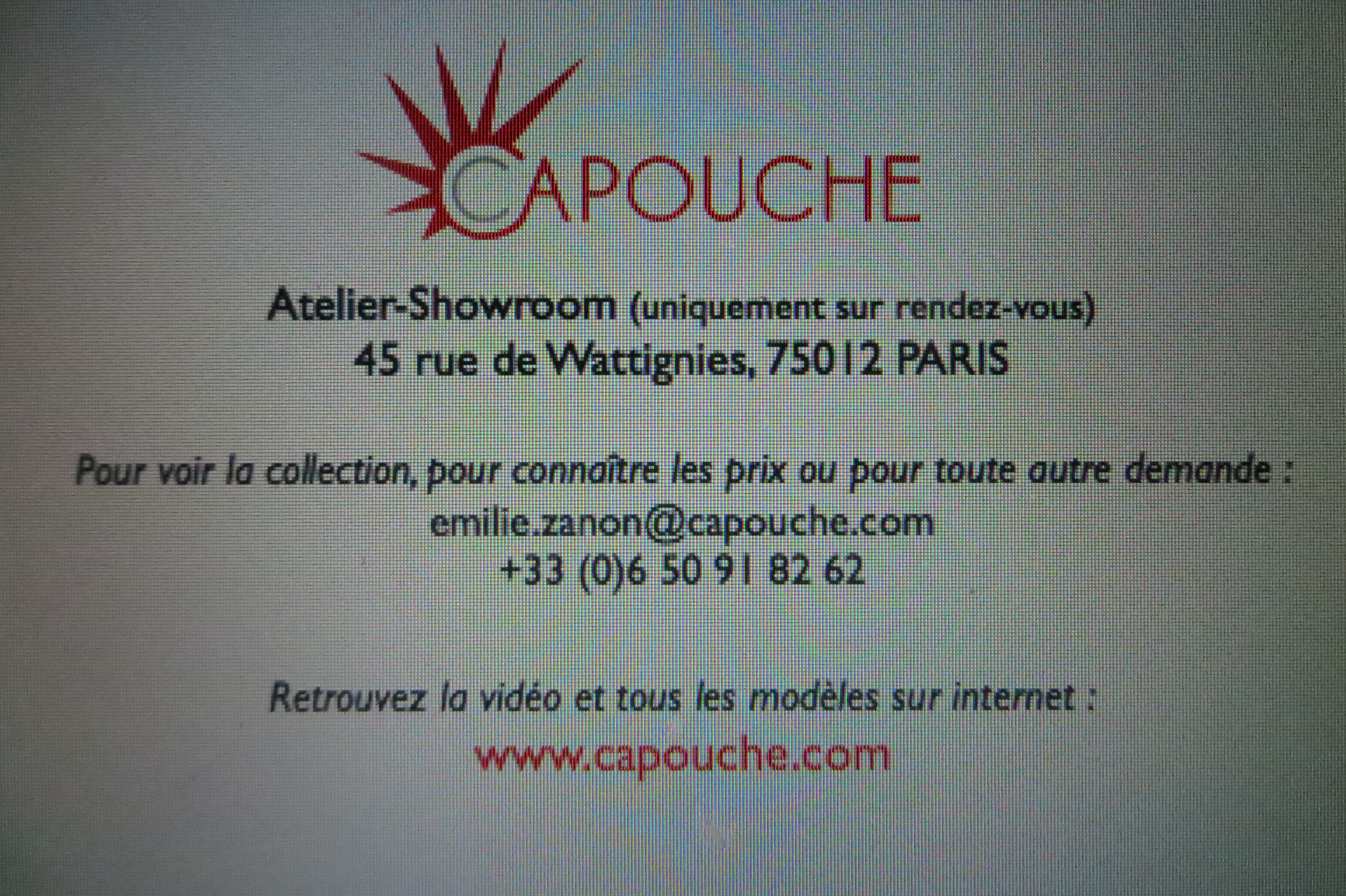 Capouche, luxury street wear