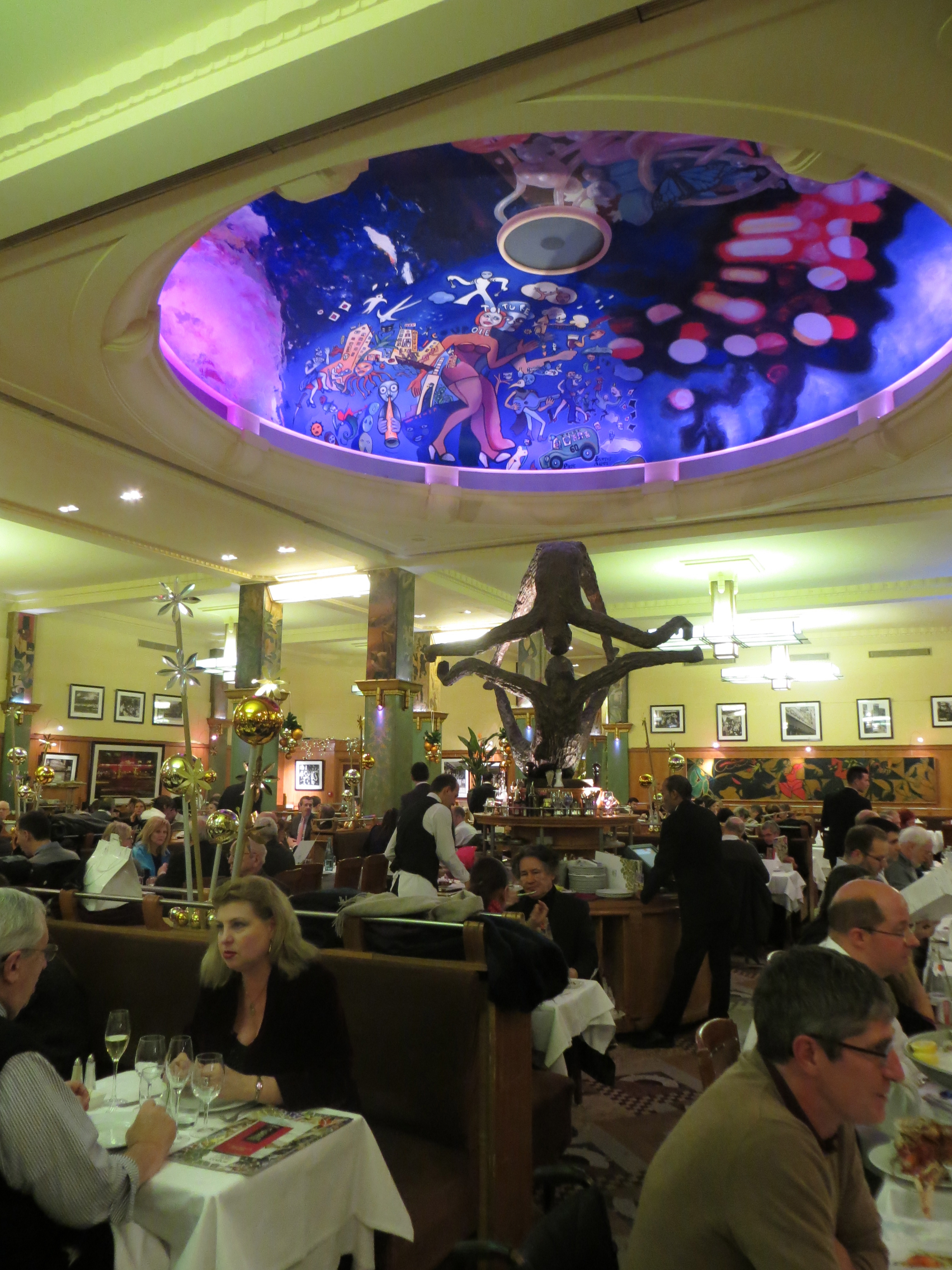 La coupole, famous brasserie in Paris