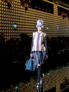 Fendi show in Milan