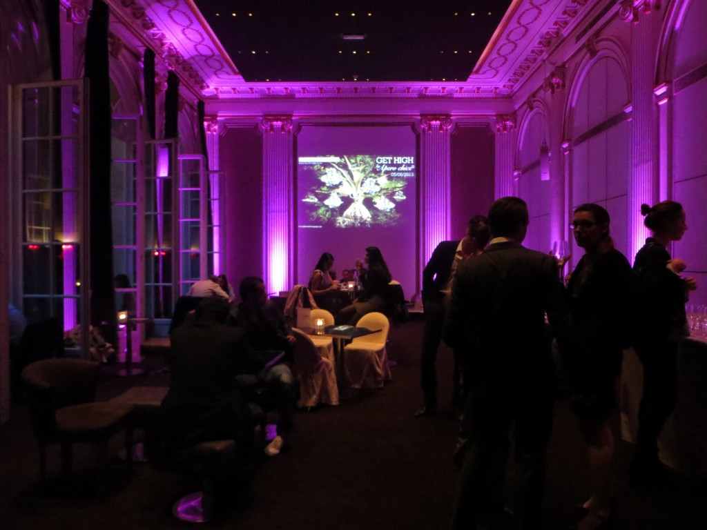 Chic After work party at Pershing hall in Paris