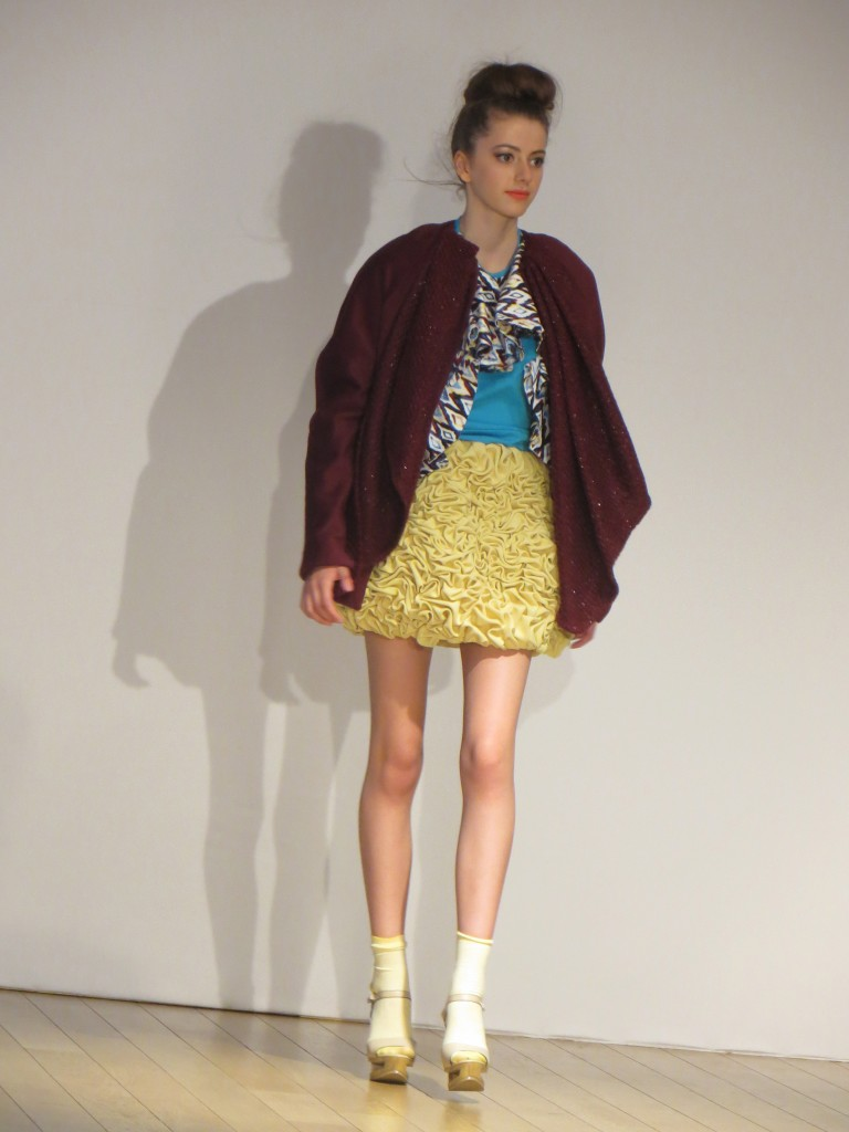 Mod´art International Paris 2013 students final collection