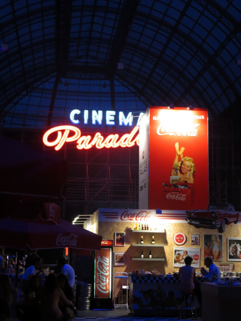 Party at Grand Palais in Paris 2013