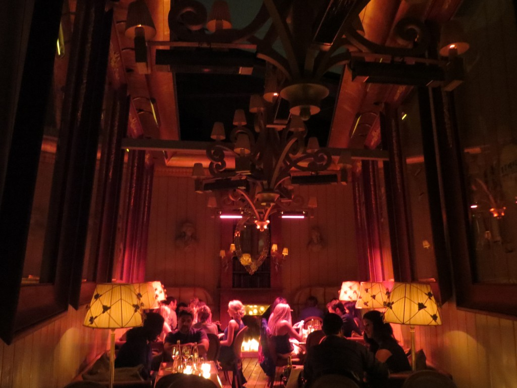 Kong, Costes Restaurant in Paris