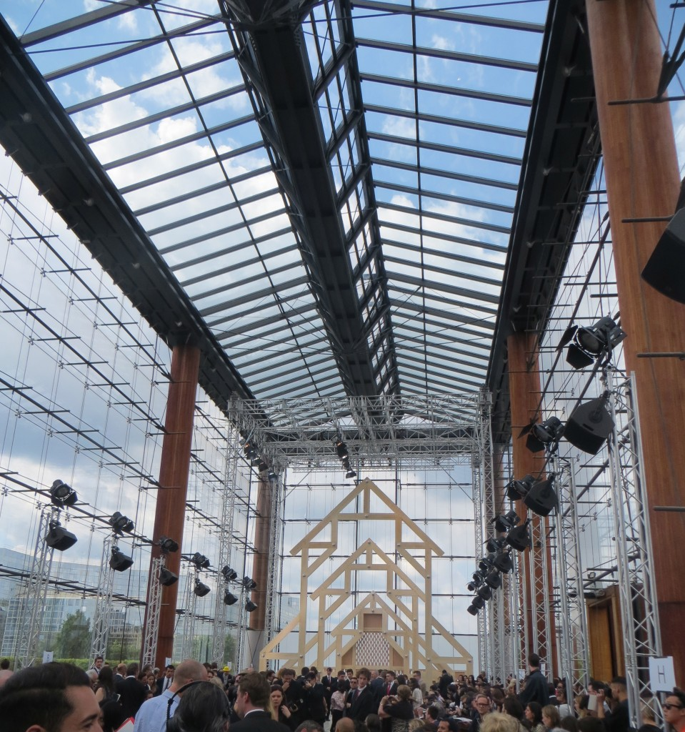 Louis Vuitton SS14 Paris - at Parc André Citroen