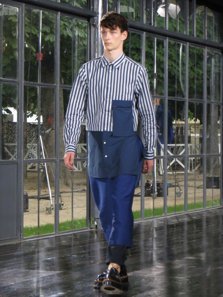 John Galliano Menswear SS14 in Jardin de Tuillerie in Paris