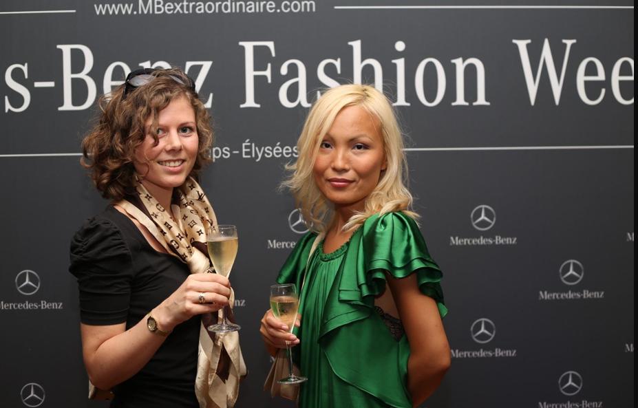 Mercedes Benz fashion party