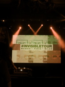 Invisible tour Party by Marc Jacobs