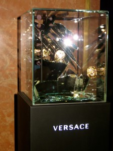 Versace Cocktail Party 2013 with Uma Thurman