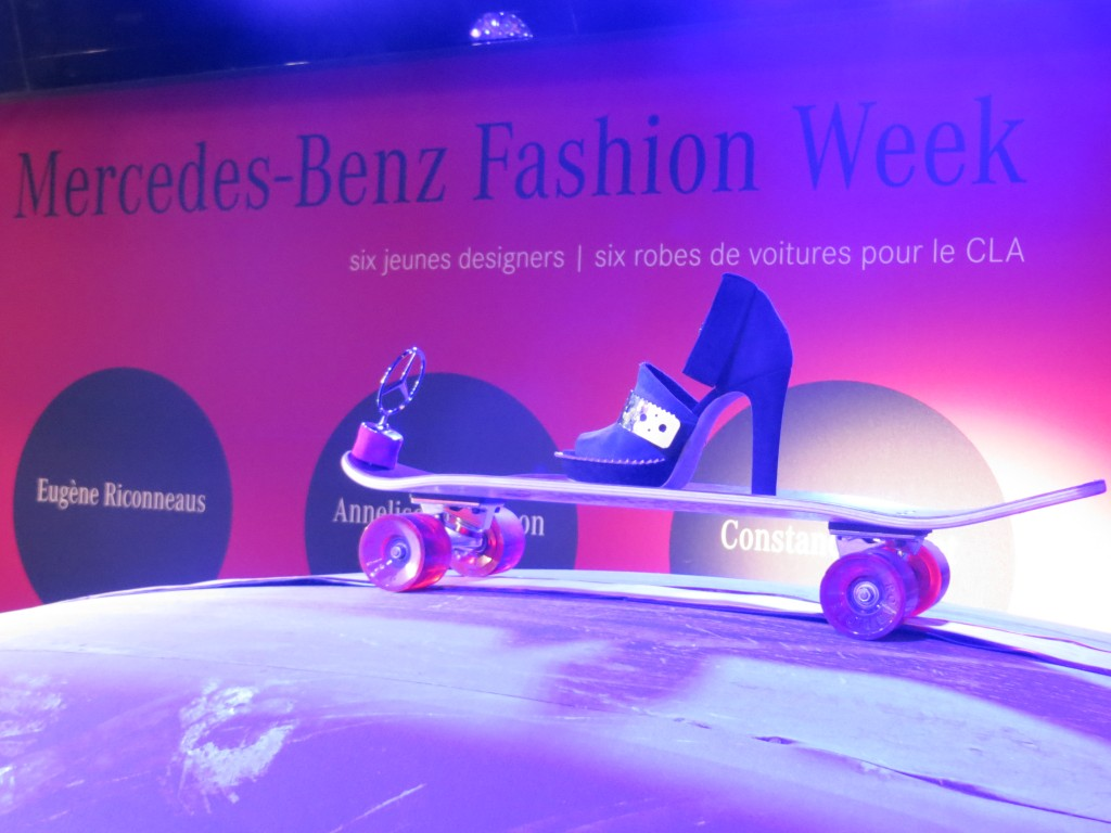 Mercedes Benz Fashion Party in Paris
