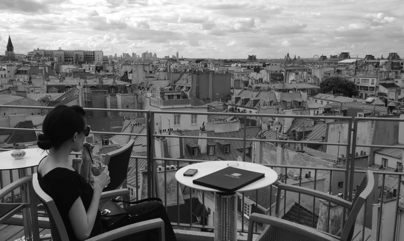 rooftop in paris