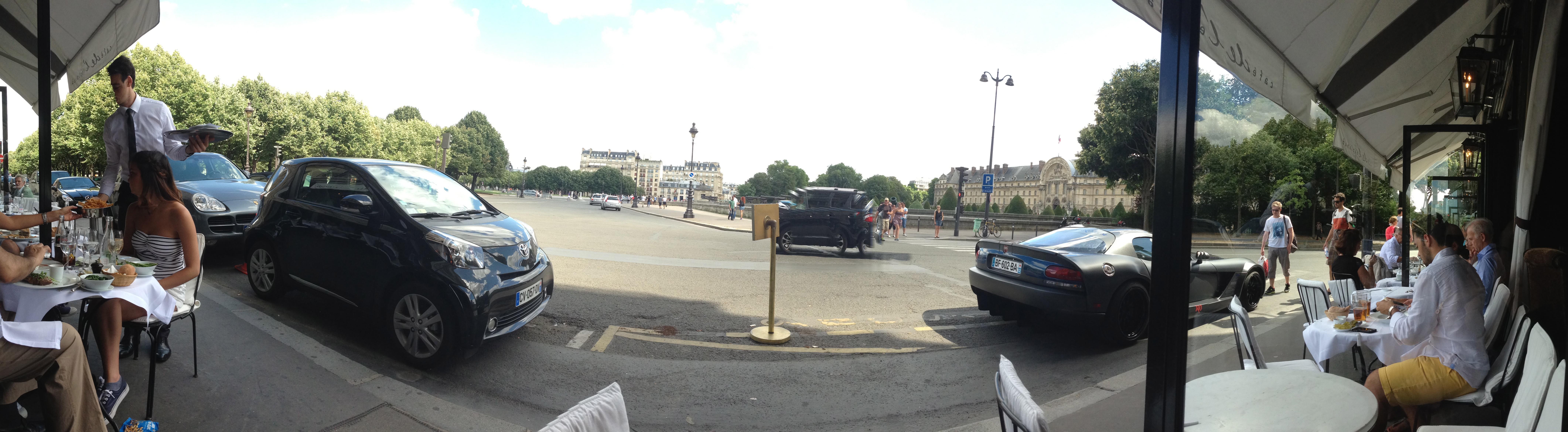 Café de l´esplanade, Paris
