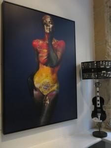 """L'Aurore de Temps"""" exhibition by Alexandra Mas"""