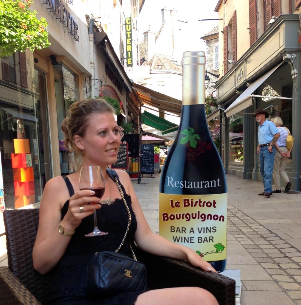 Winetasting in Baune