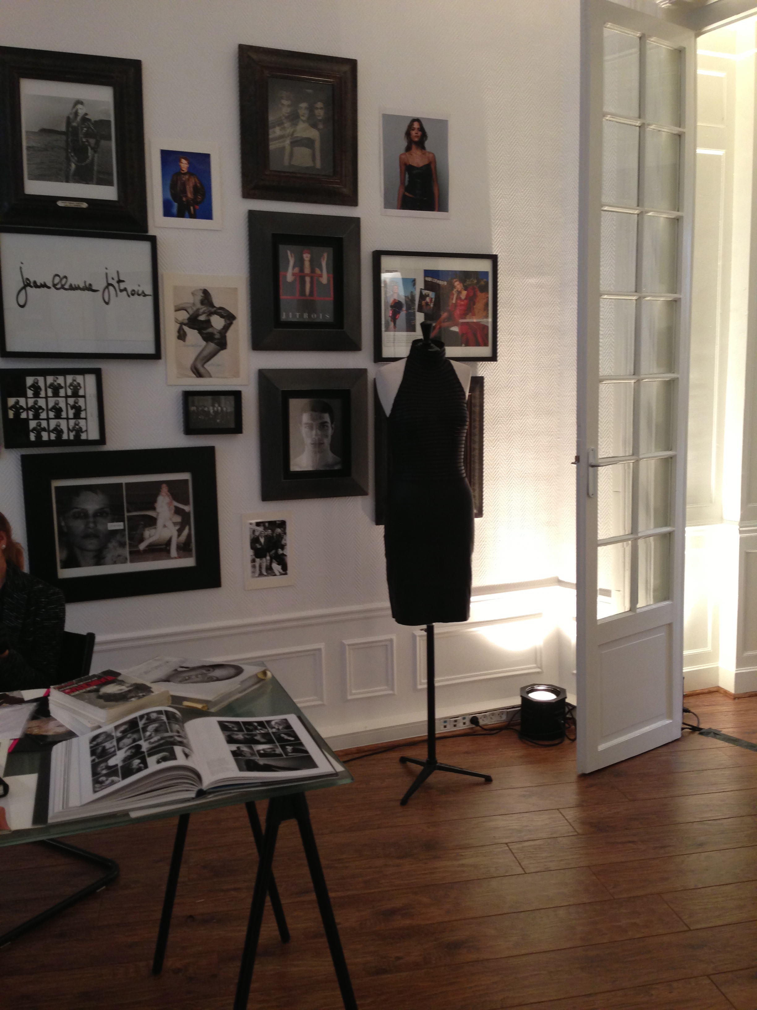 Jean Claude Jitrois´ fashion office