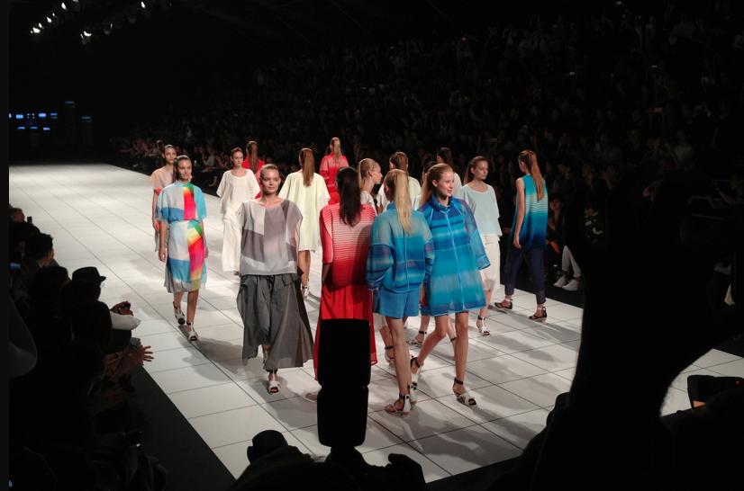 Issey Miyake fashion show paris