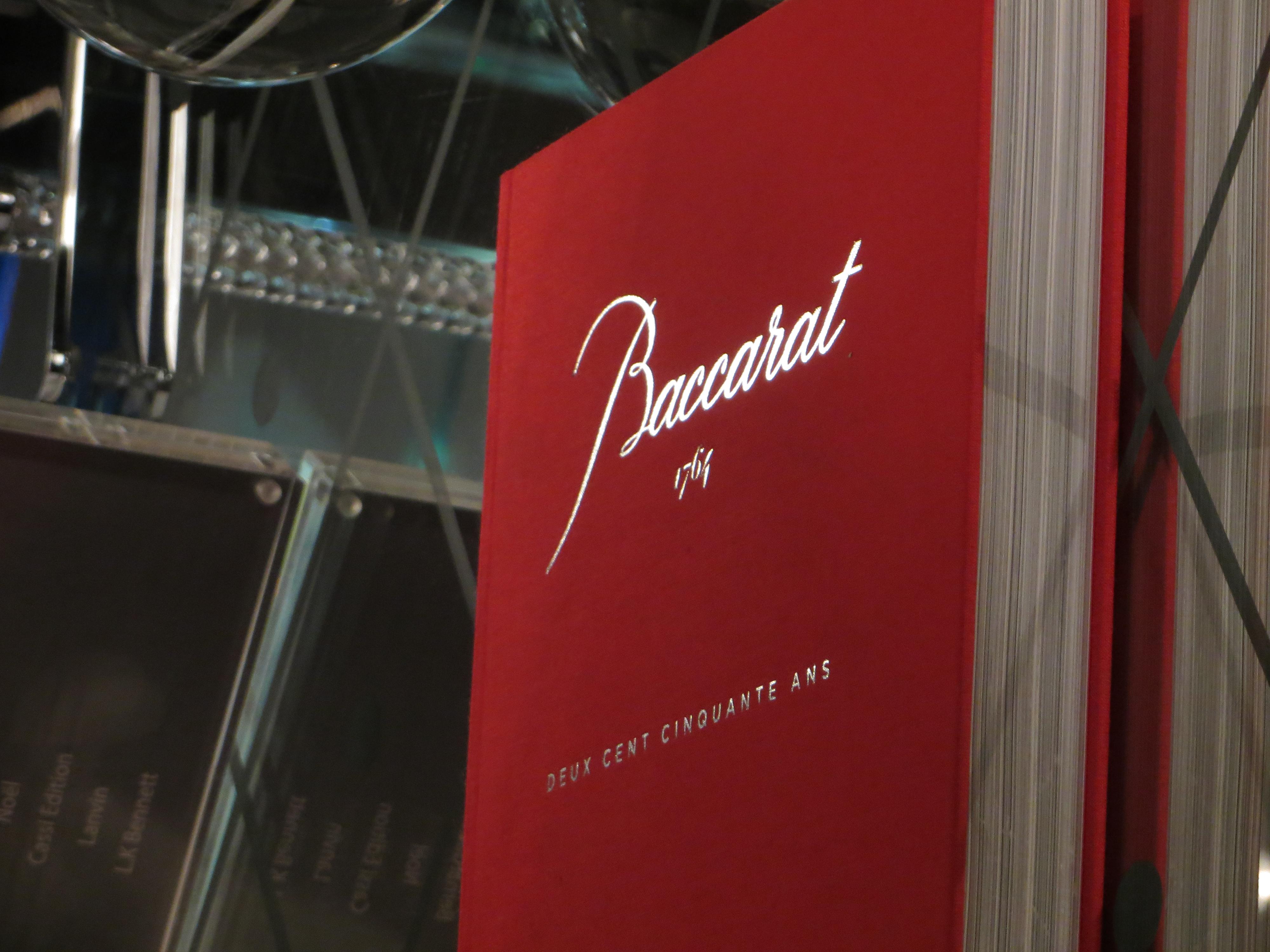 Baccarat 250 years anniversary