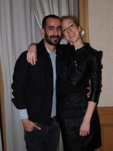 Iris Van Herpen and Karim