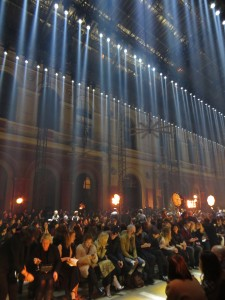 Lanvin Fashionshow in Paris 2014