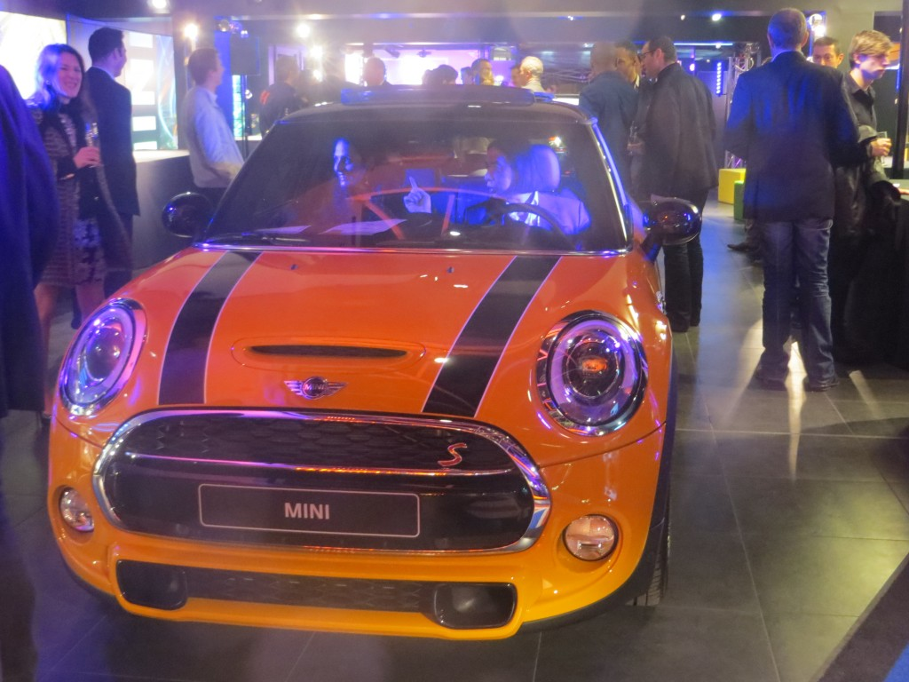 New Mini Cooper launch party 2014 Paris