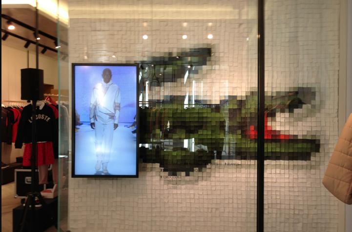 Lacoste showroom