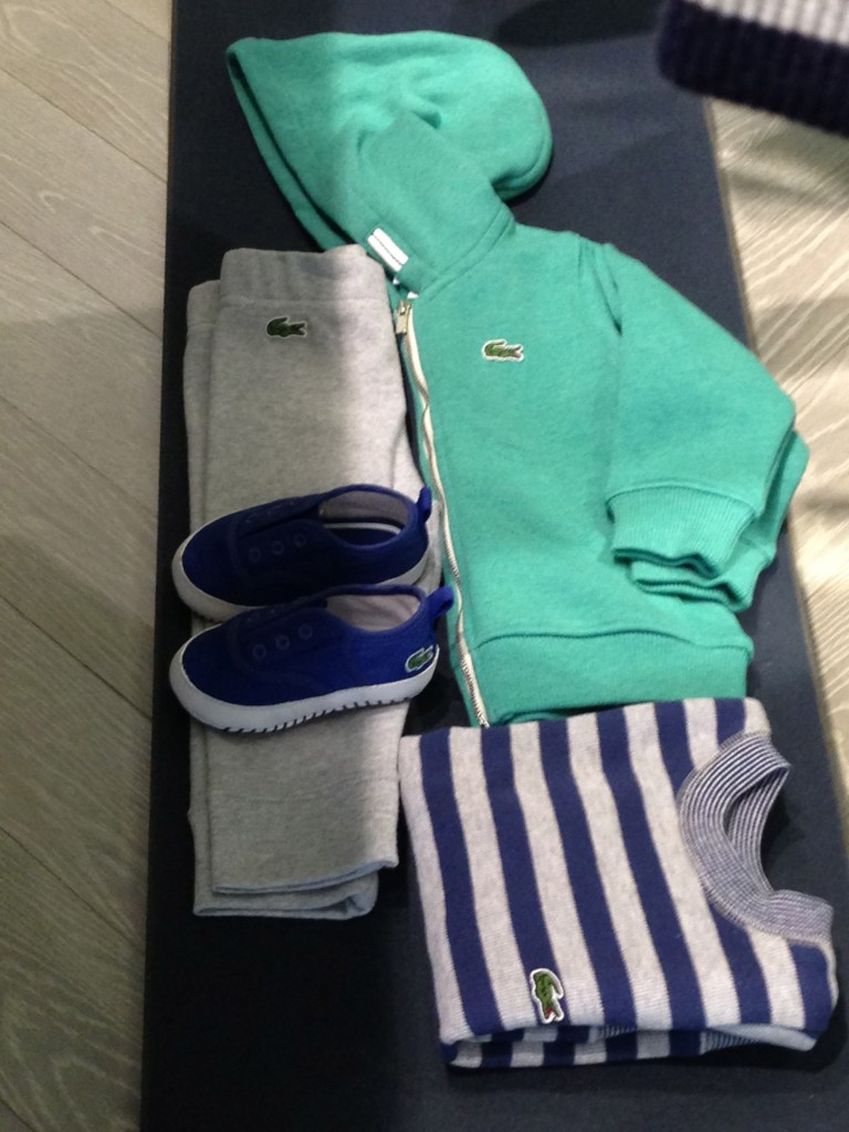 Lacoste Fall / winter childrens wear