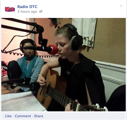 Jean Louis Aubert and Julie Johansen in DTC Radio