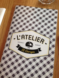 L´Atelier St George Burger Restaurant Paris