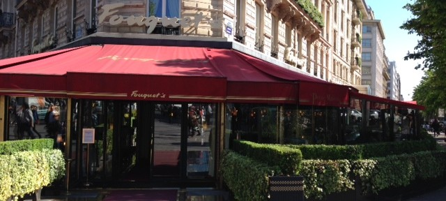Fouquet's restaurant in Paris