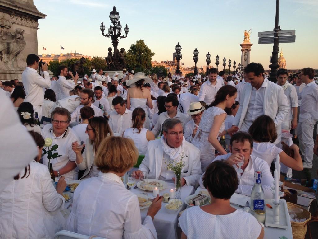 Diner en Blanc Paris 2014