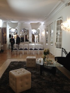 fashion show in paris