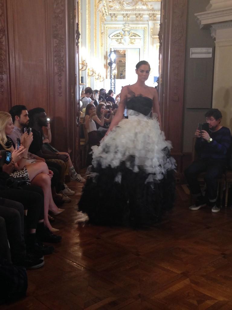 Eva mine fashion show