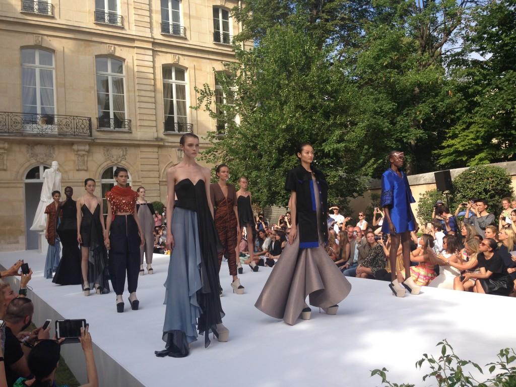 IIja haute couture show paris