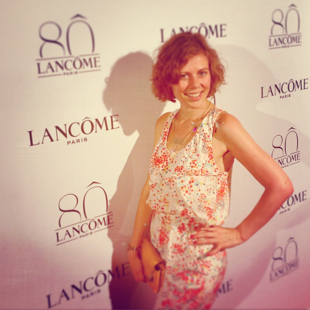 Lancôme 80 anniversary fashion party Paris