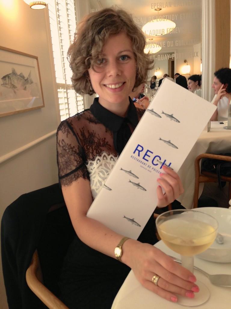 Alain Ducasse Restaurant Rech
