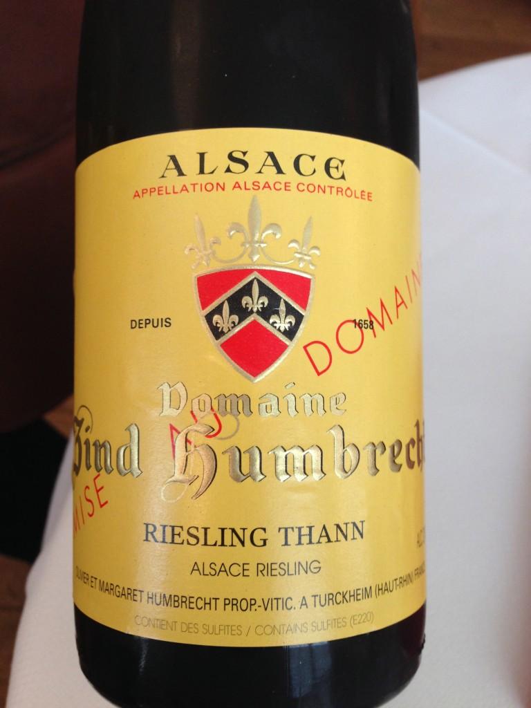 Alain Ducasse wine