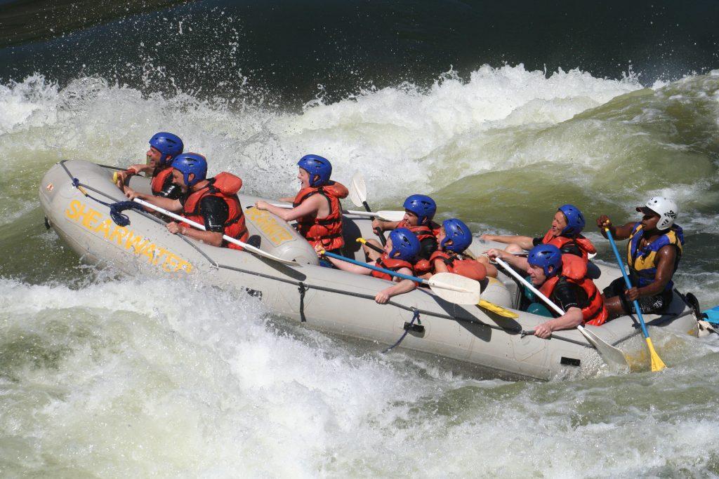 rafting 2007, vic falls, zambesi, Afrika 006