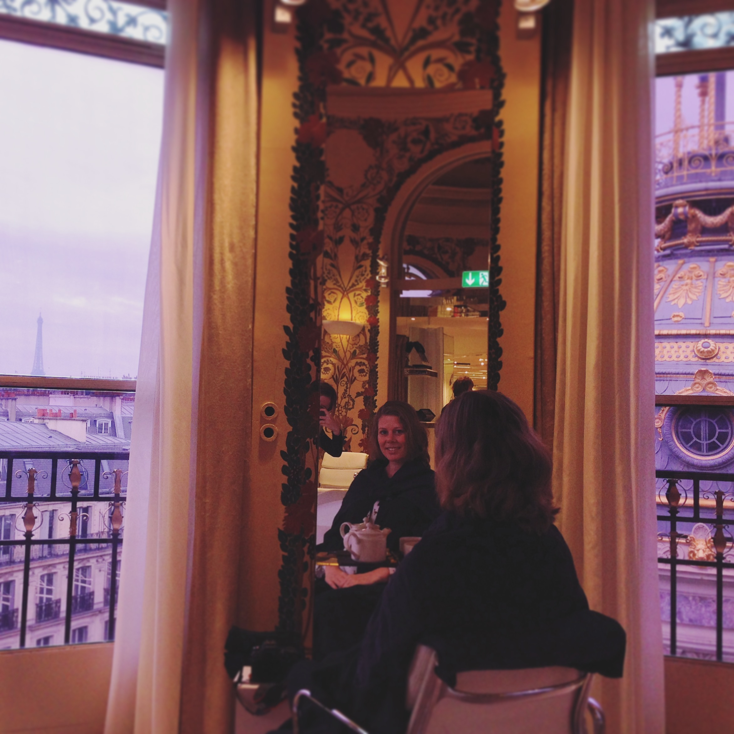 Coiffirst hairsalon at Printemps in Paris
