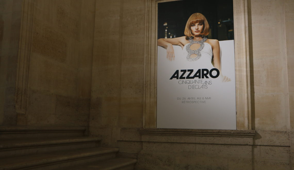 Azzaro exhibition Paris