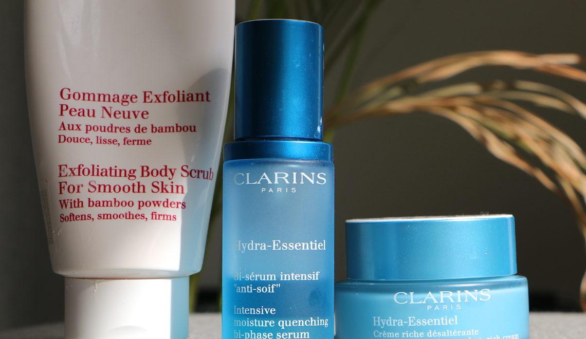 Clarins paris products