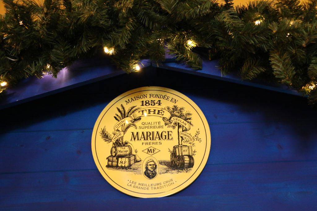Mariage Freres Christmas tea Paris