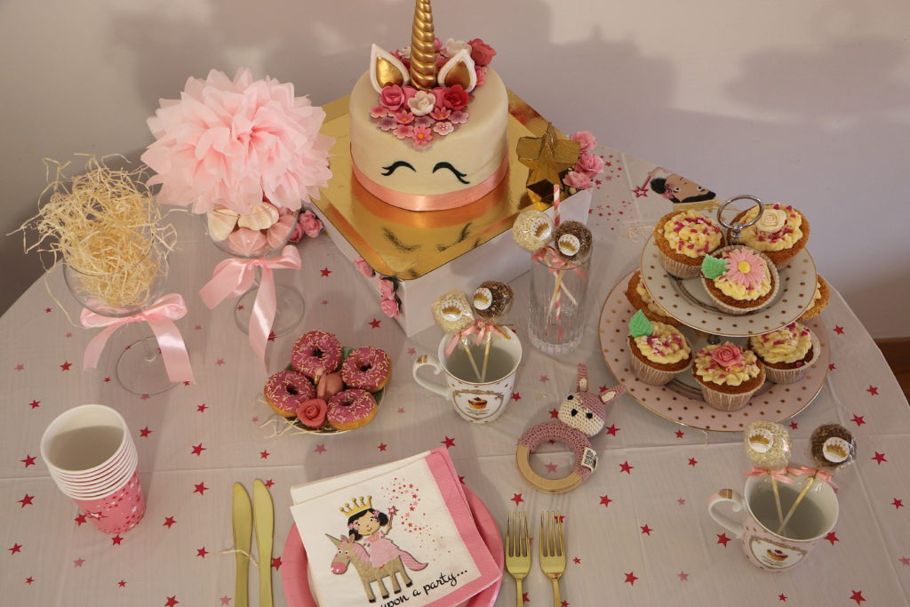 Baby shower in Paris