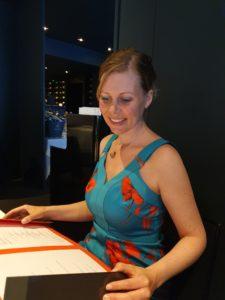 Le Chiberta Michelin restaurant in Paris