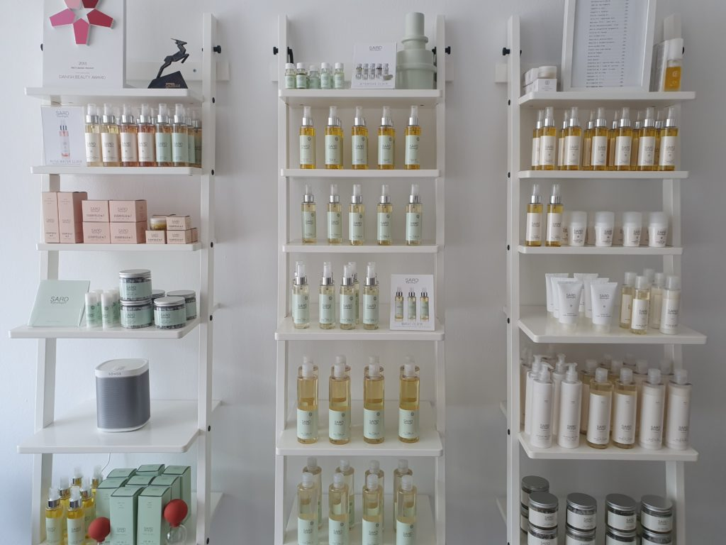 SARD Kopenhagen beauty products