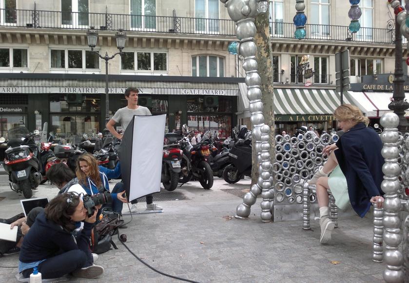 Photo shoot paris