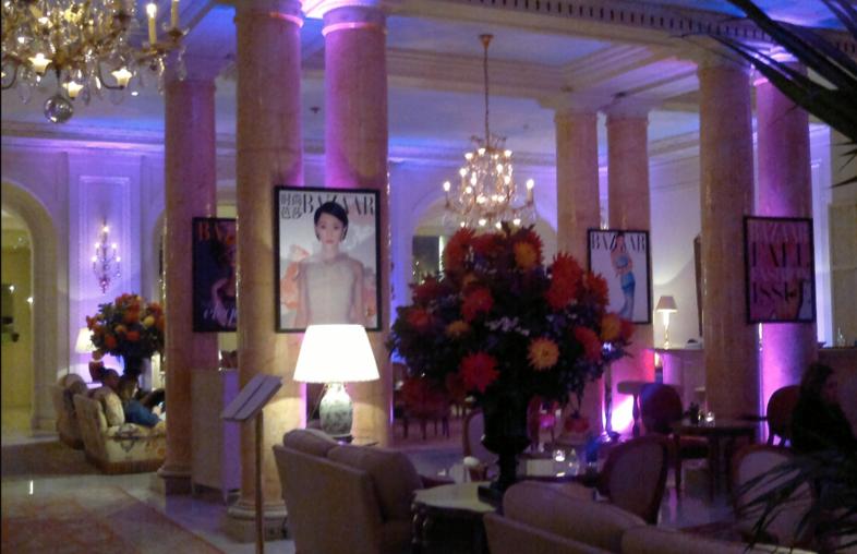 Bristol hotel in paris