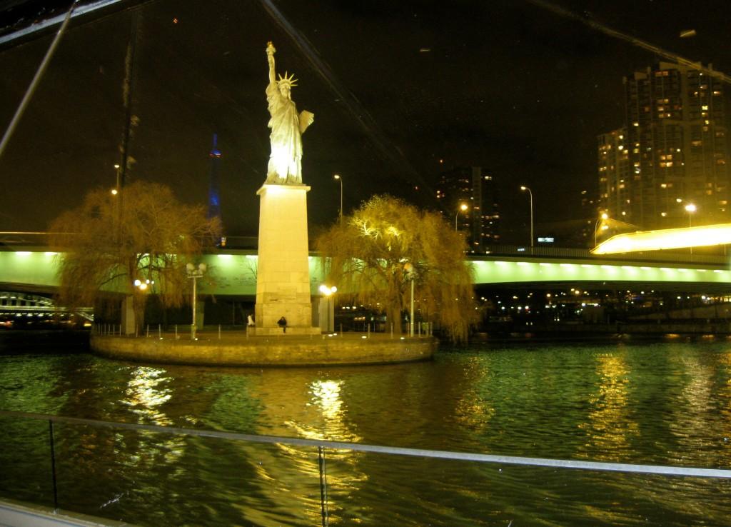 Bateau Mouche dinner cruise in Paris