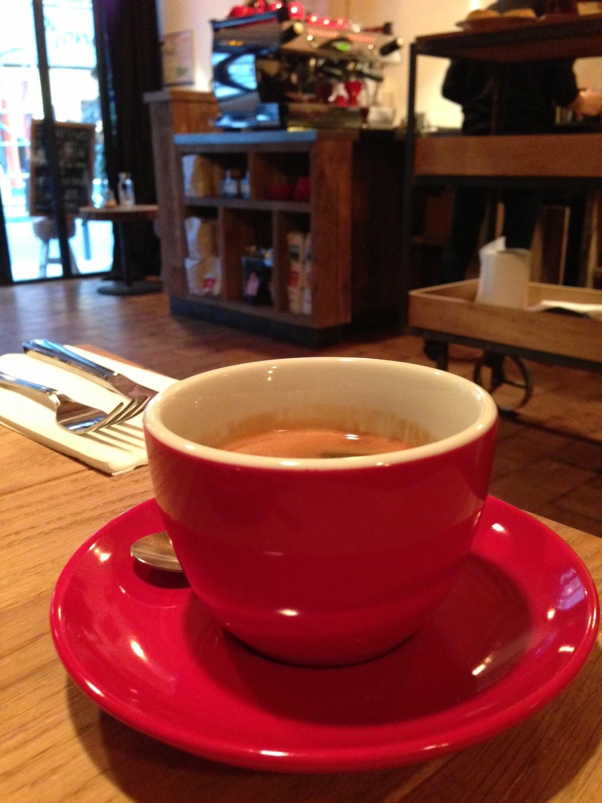 Best coffee places in Paris
