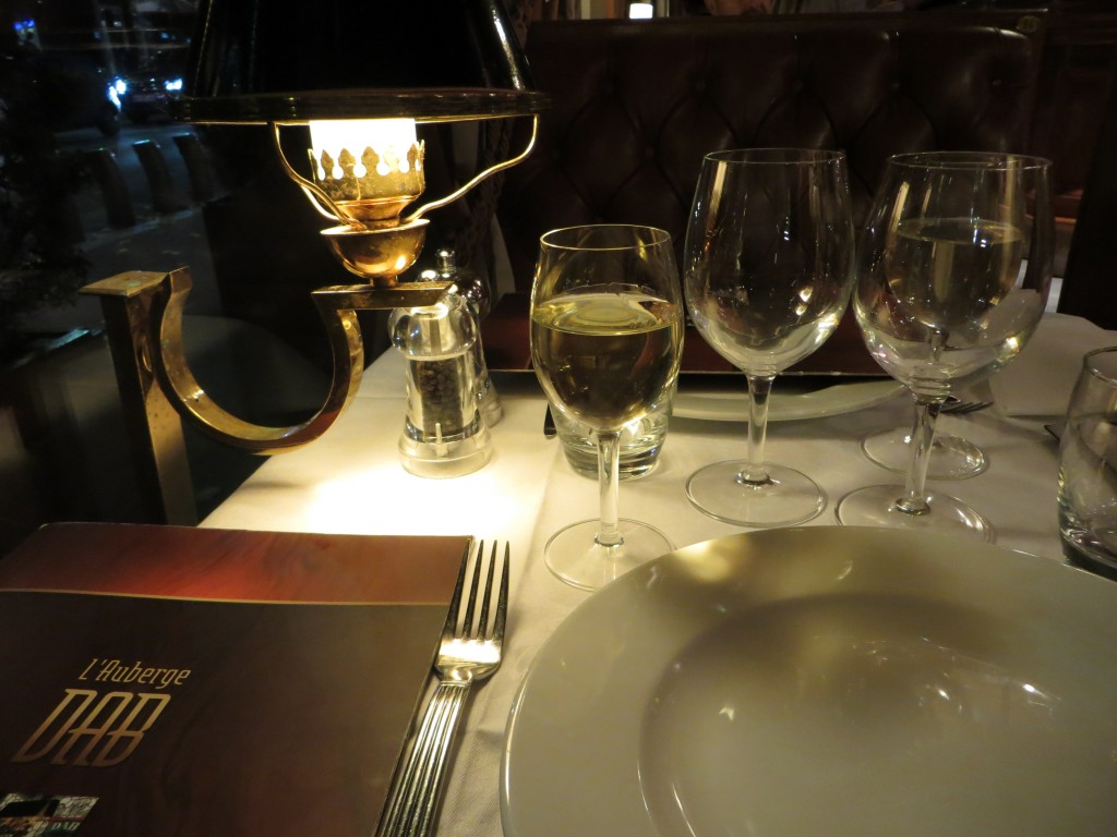 L´auberge Dab, restaurant in Paris