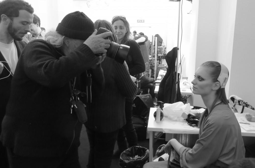 Backstage Gucci